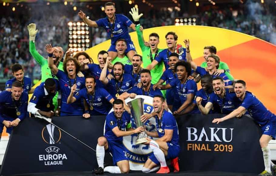 Gilas Arsenal, Chelsea Juarai Europa League