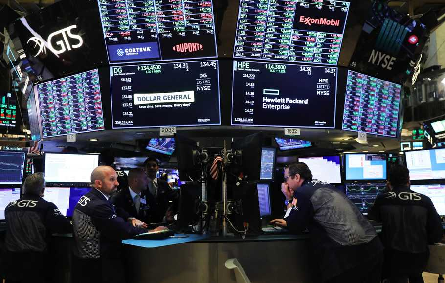 Wall Street Menguat di Tengah Optimisme Penurunan Bunga the Fed