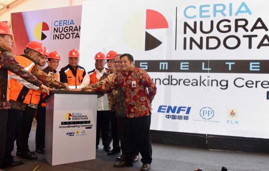 PTPP Groundbreaking Smelter Feronikel di Kolaka