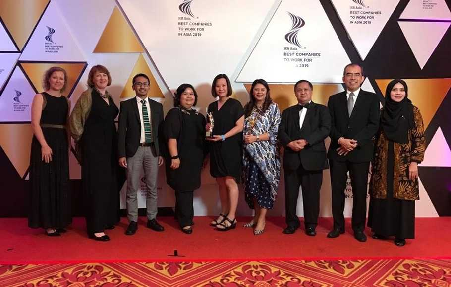 Danone Indonesia Raih Best Companies to Work for in Asia 2019