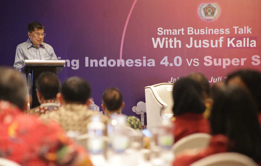 Smart Business Talk With Jusuf Kalla