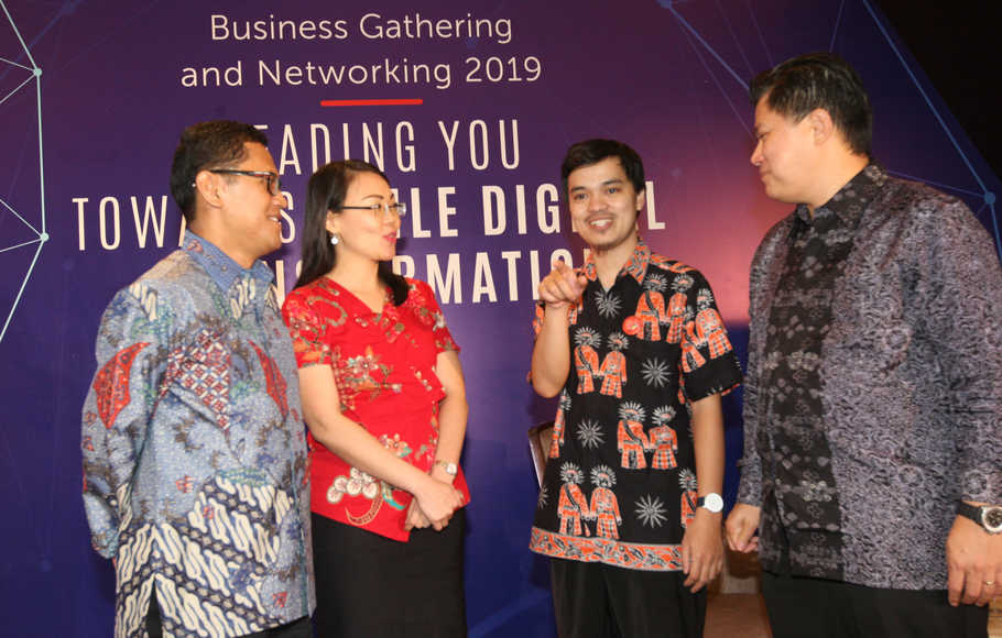 Business Gathering and Networking First Media