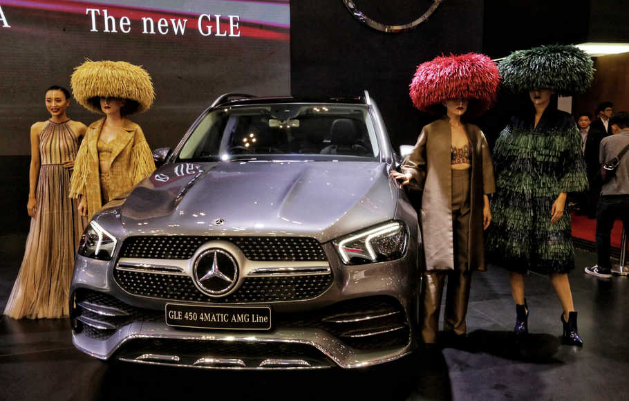 Mercedes-Benz New GLE Dan New CLA Coupe Tampil Perdana di GIIAS 2019