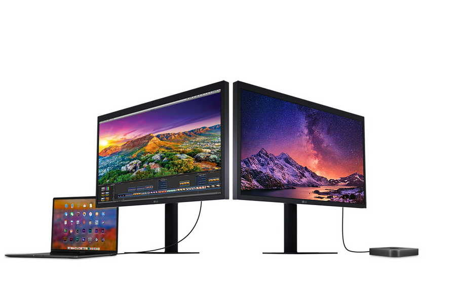 Monitor LG UltraFine Boyong Resolusi 5K