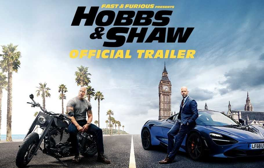 Hobbs & Shaw Duduki Puncak Box Office