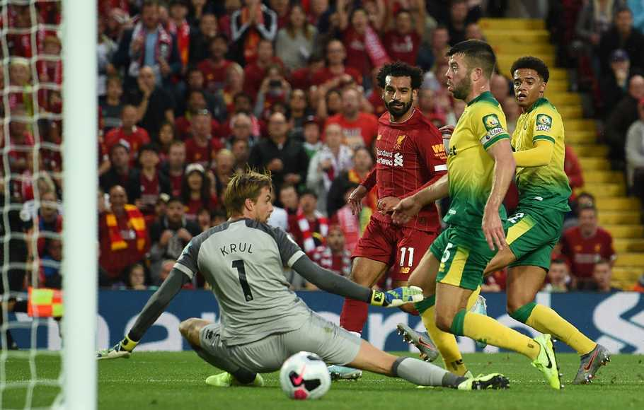 Preview Premier League, Tugas Berat Norwich Menjamu Liverpool