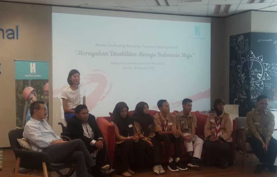Yayasan Helping Hands Siapkan Program Bela Hak Penyandang Disabilitas