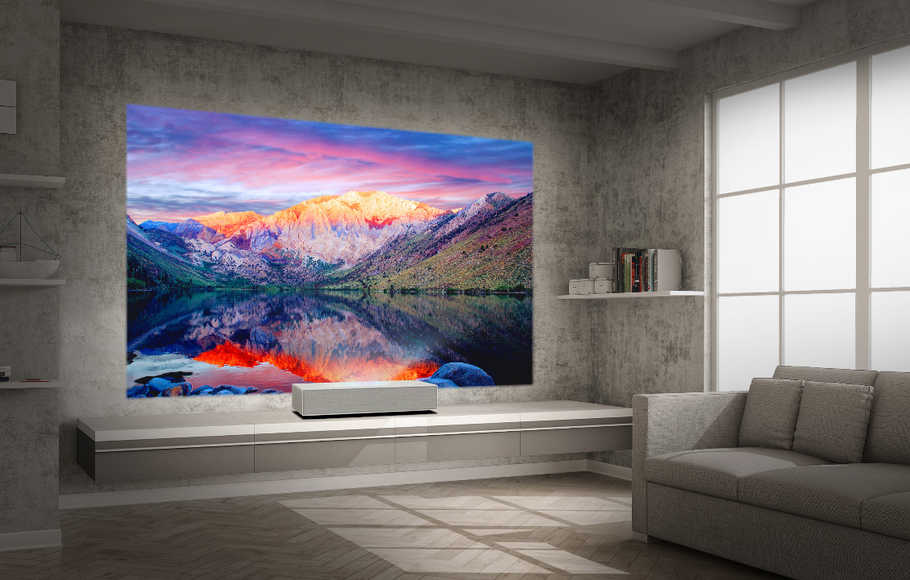 LG Kenalkan Proyektor 4K Laser Ultra Short Throw di IFA 2019