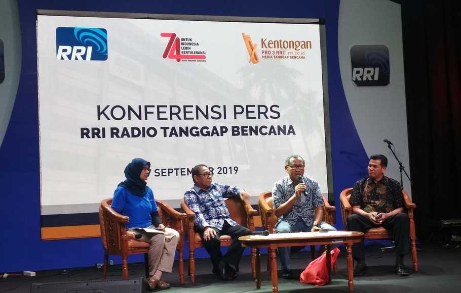 Program Kentongan RRI Perkuat Mitigasi Bencana