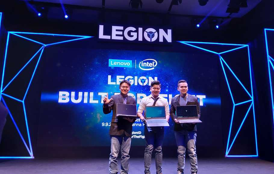 Pengapalan Laptop Gaming Lenovo Tumbuh 63%