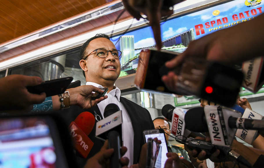 PSI Tuntut Transparansi Anggaran, Anies Bergeming