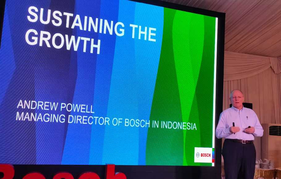 Bosch Optimistis Penjualan Tumbuh Double Digit