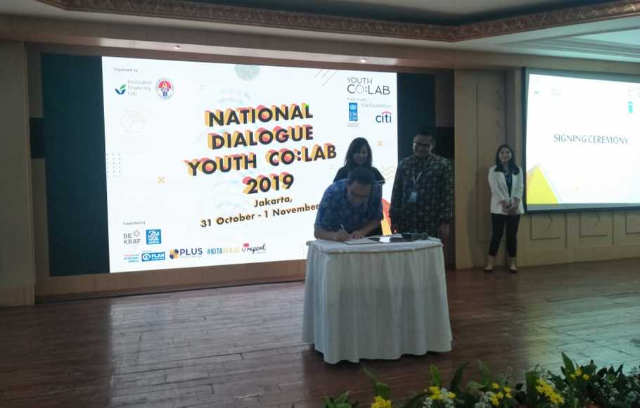 Kempora Gelar National Dialogue Youth Co: LAB 2019