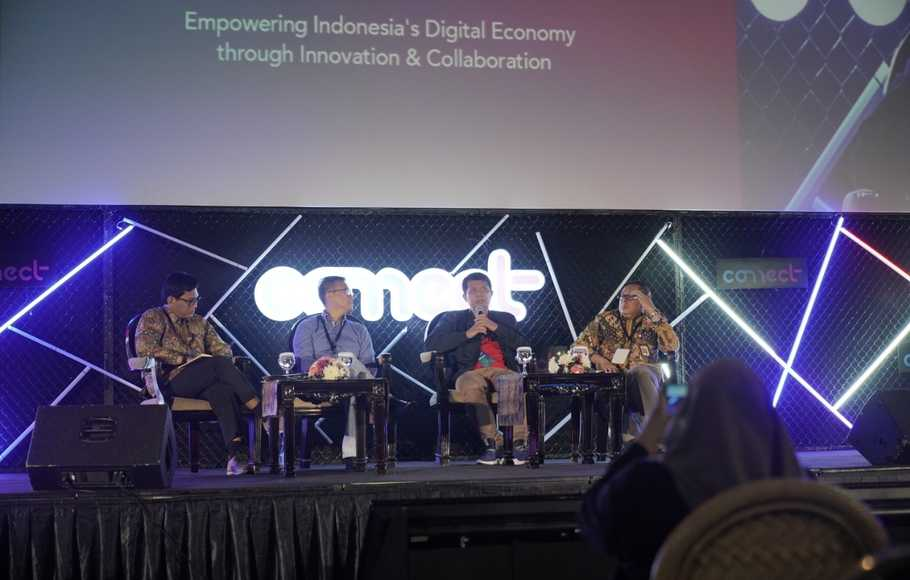 Konferensi pers Connect Indonesia 2019.