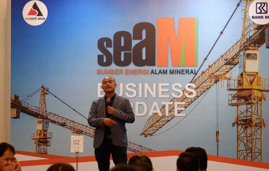 CEO SEAM Group, Asep Sulaiman Sabanda.