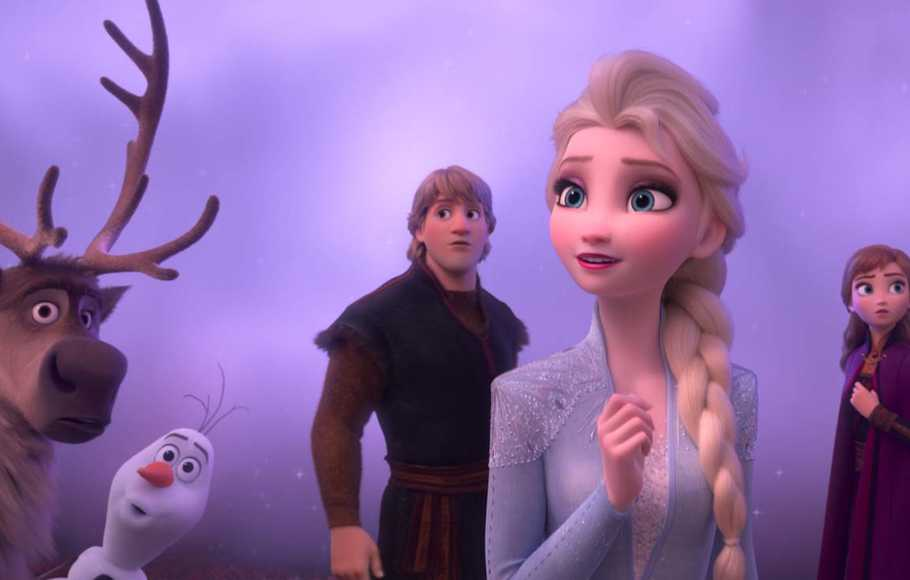 Frozen 2 Bertahan di Puncak Box Office
