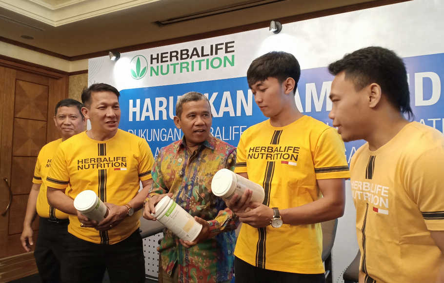 Herbalife Dukung 90 Atlet Indonesia Berlaga di SEA Games 2019