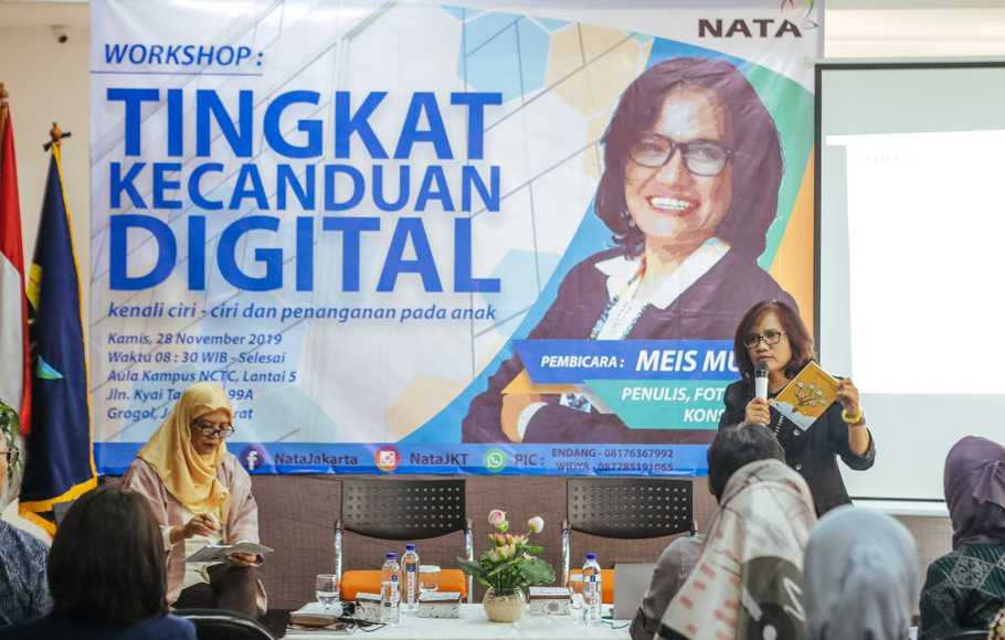 Kenali Tingkat Kecanduan Digital di Seminar Digital Addiction Quotient