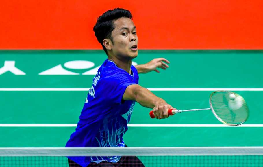Anthony Melaju ke Final Indonesia Masters 2020