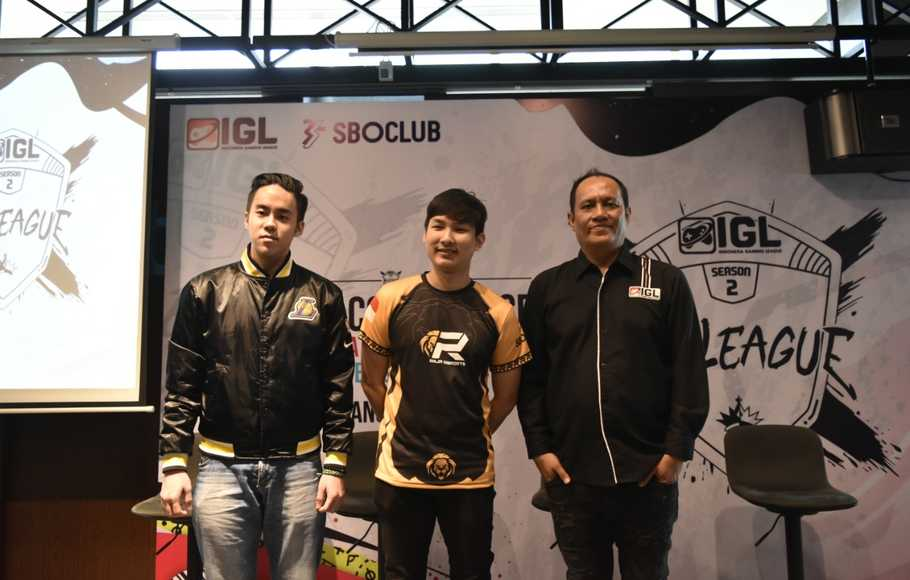 Indonesia Gaming League Pertandingkan 3 Turnamen