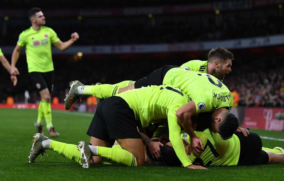 Arsenal Ditahan Sheffield di Emirates