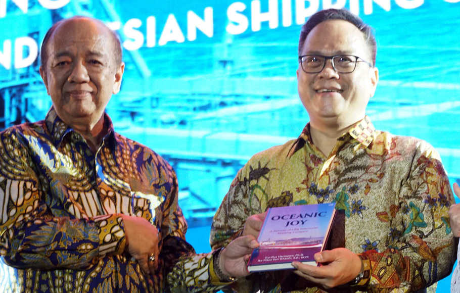 Peluncuran Buku 'Oceanic Joy: A Journey of a Big Indonesian Shipping Company'