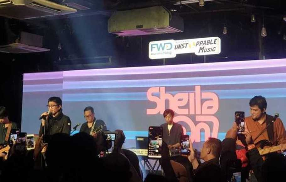 Sheila on 7 Tampil Apik di FWD Unstoppable Music 2020