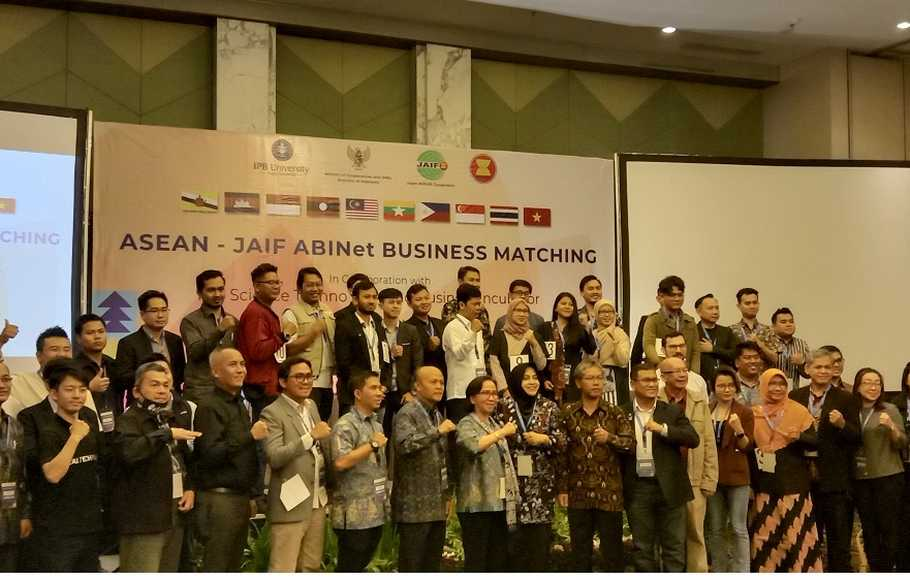 ASEAN-JAIF ABINet Bussiness Matching 2020 di IPB International Convention Center, Bogor, Kamis (12/3).