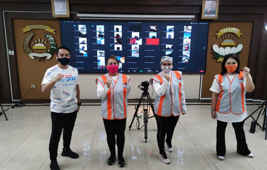 Pandemi Covid-19, Kartini Run 2020 Digelar Virtual