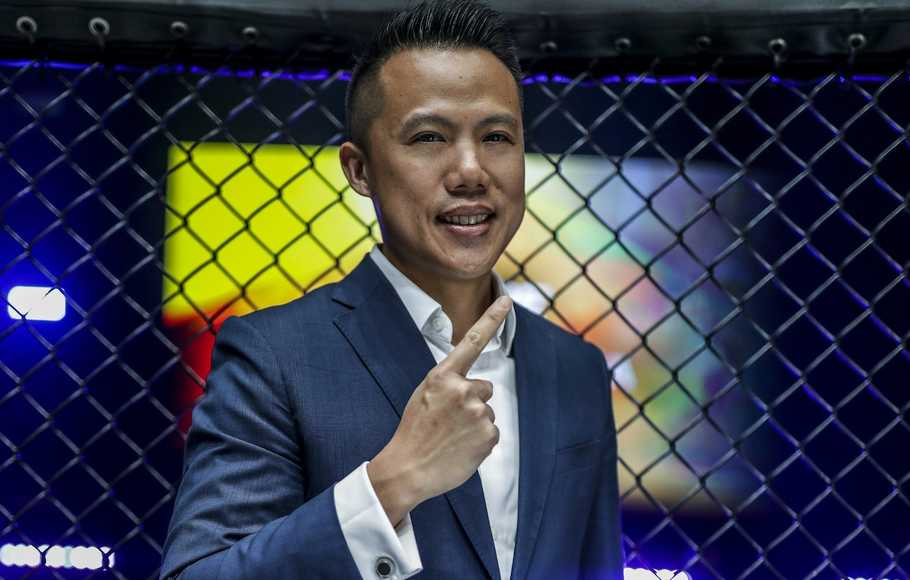 Group President One Championship Hua Fung Teh.