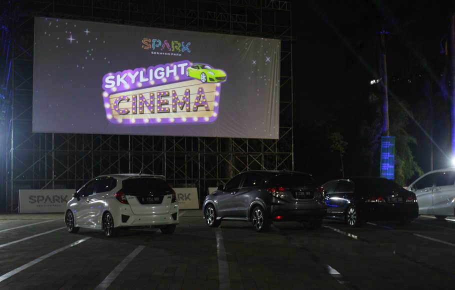 Drive-In Cinema di Senayan Park