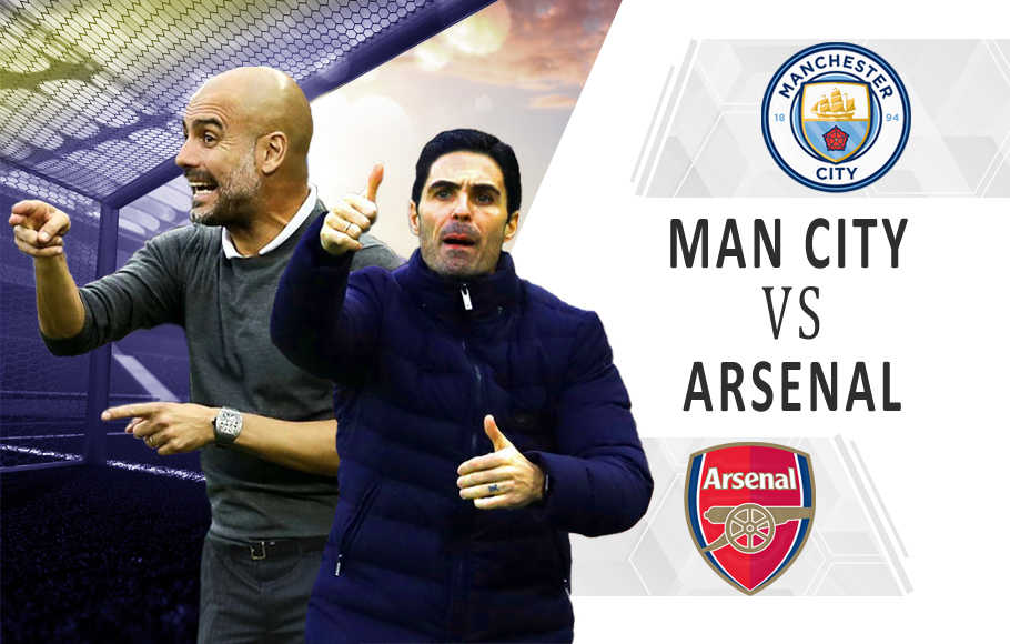 Preview Manchester City vs Arsenal.