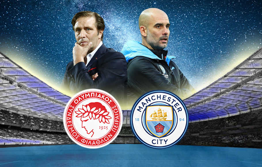 Preview Olympiakos vs Manchester City.