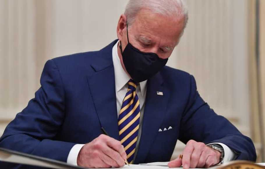Presiden AS Joe Biden.
