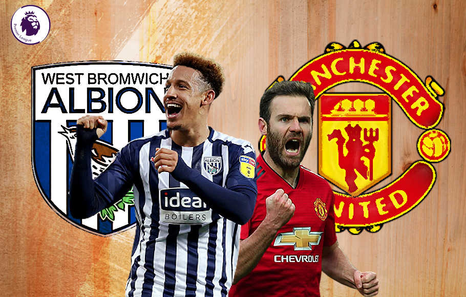 Preview West Bromwich Albion vs Manchester United.