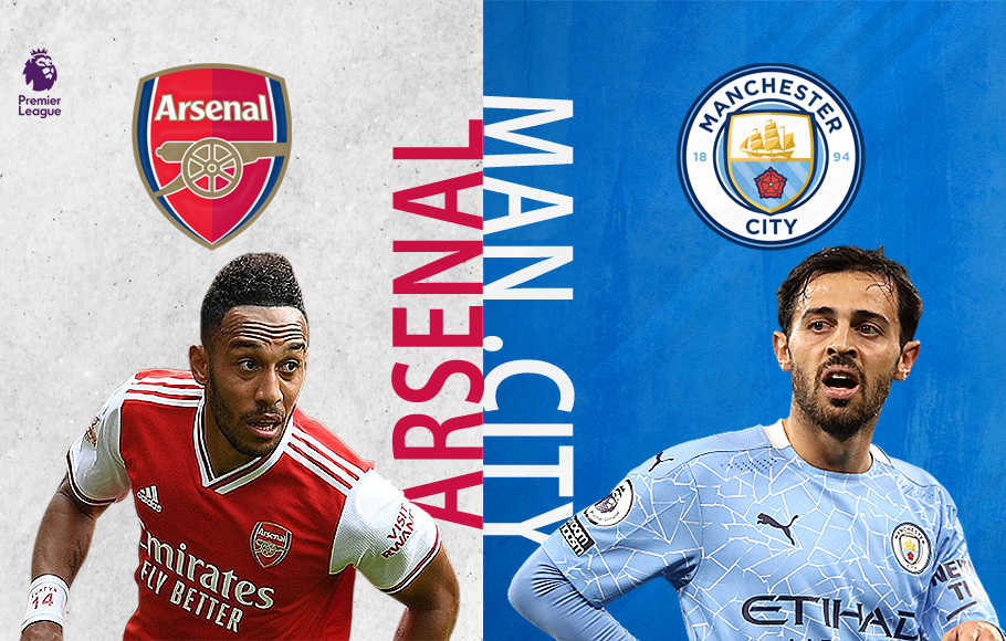 Preview Arsenal vs Manchester City.