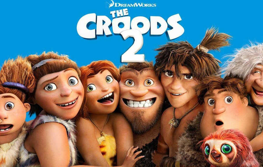 Poster Film The Croods 2