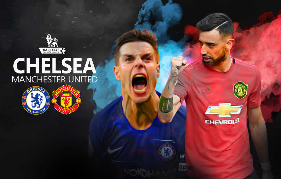 Preview Chelsea vs Manchester United.