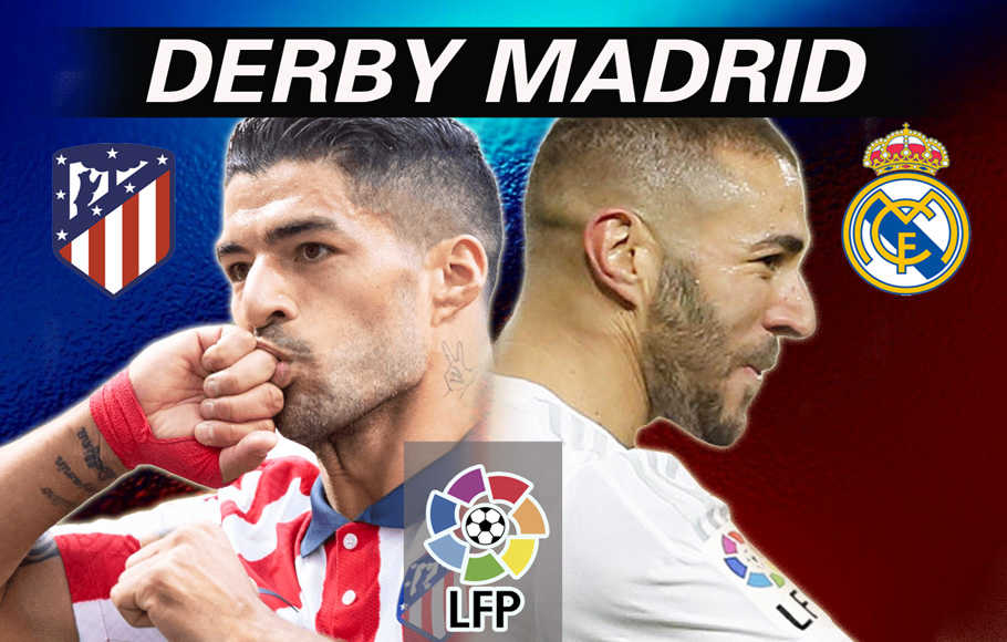 Preview Atletico Madrid vs Real Madrid.