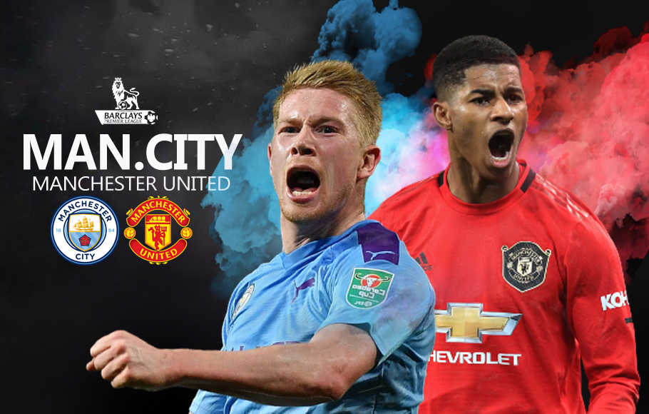 Preview Manchester City vs Manchester United.