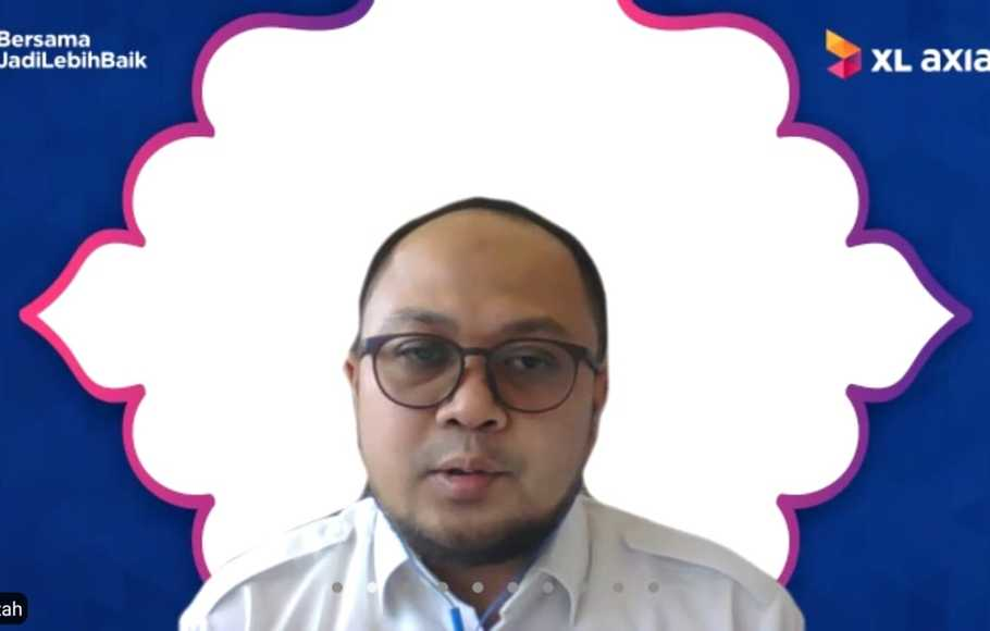 Head Strategic Operation and Automation XL Axiata Ahmad Hamzah.