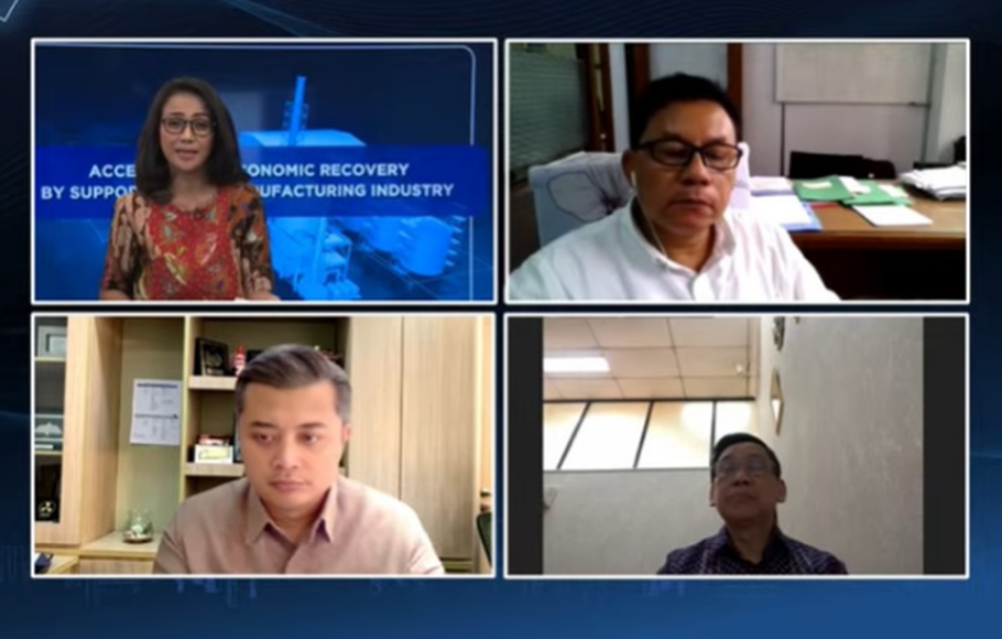 Webinar Mandiri Manufacturing Indonesia Forum 2021 Accelerating Economic Recovery by Supporting the Manufacturing Industry