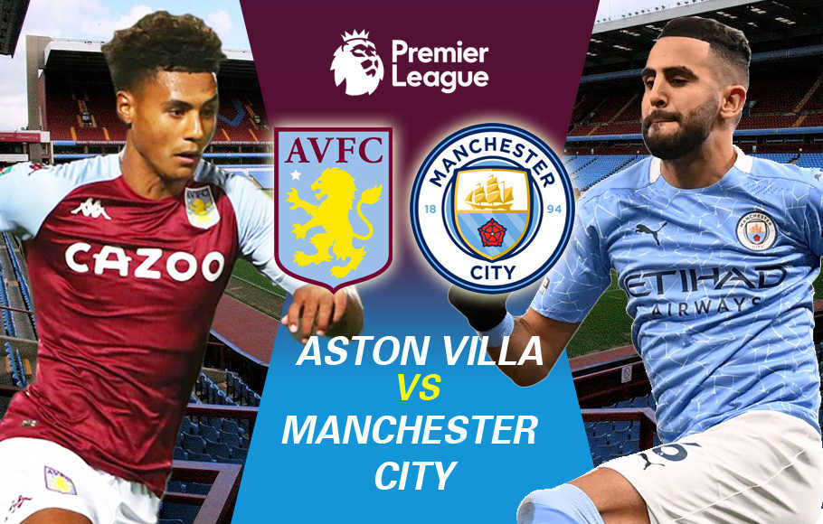 Preview Aston Villa vs Manchester City.