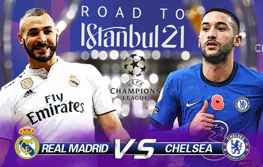 Preview Real Madrid vs Chelsea.