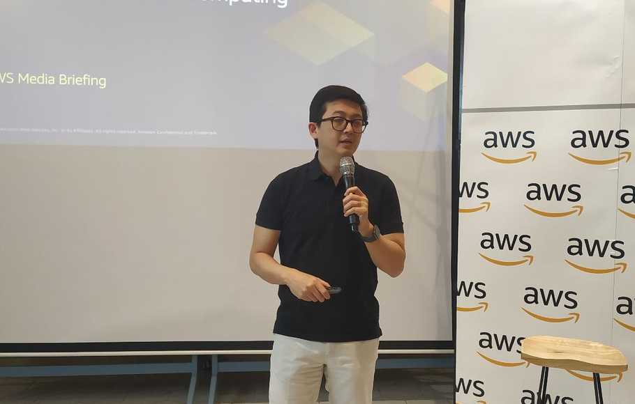 Country Manager AWS Indonesia, Gunawan Susanto.