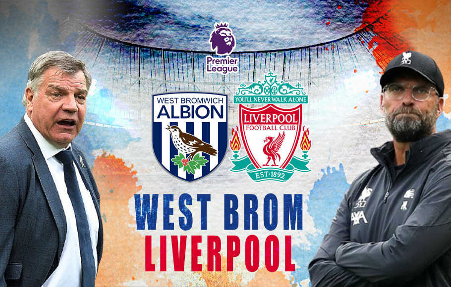 Preview West Bromwich Albion vs Liverpool.