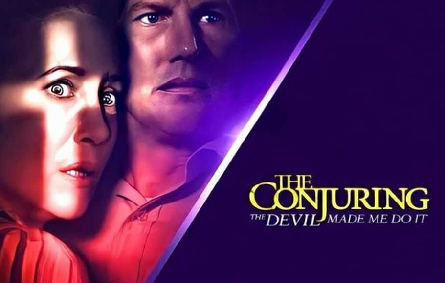 Film The Conjuring: The Devil Made Me Do It.