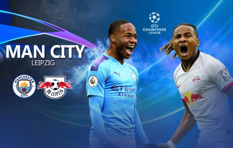Preview Manchester City vs RB Leipzig.