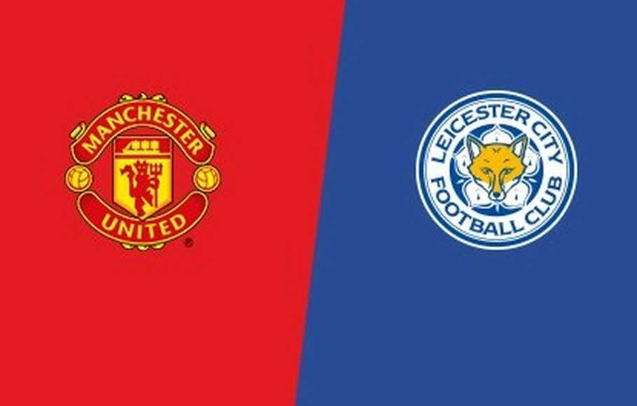 Susunan Pemain Manchester United vs Leicester