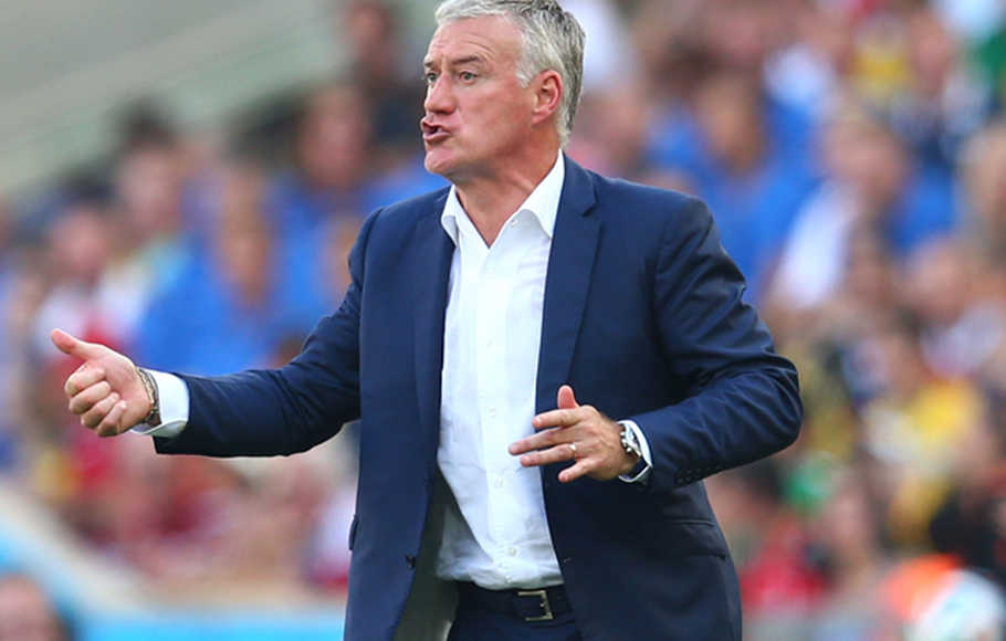 Pelatih Pranvis Didier Deschamps.